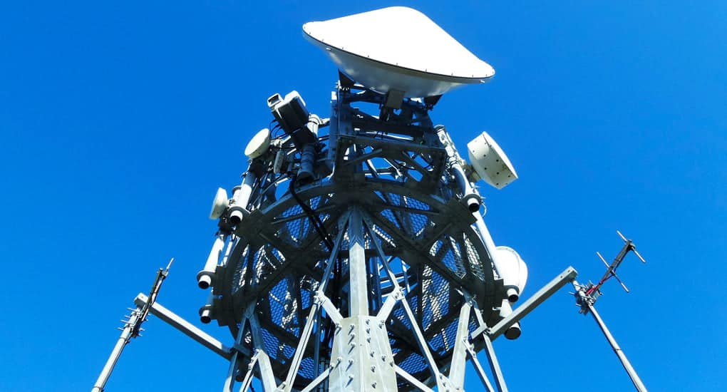 radio frequency wireless network tower