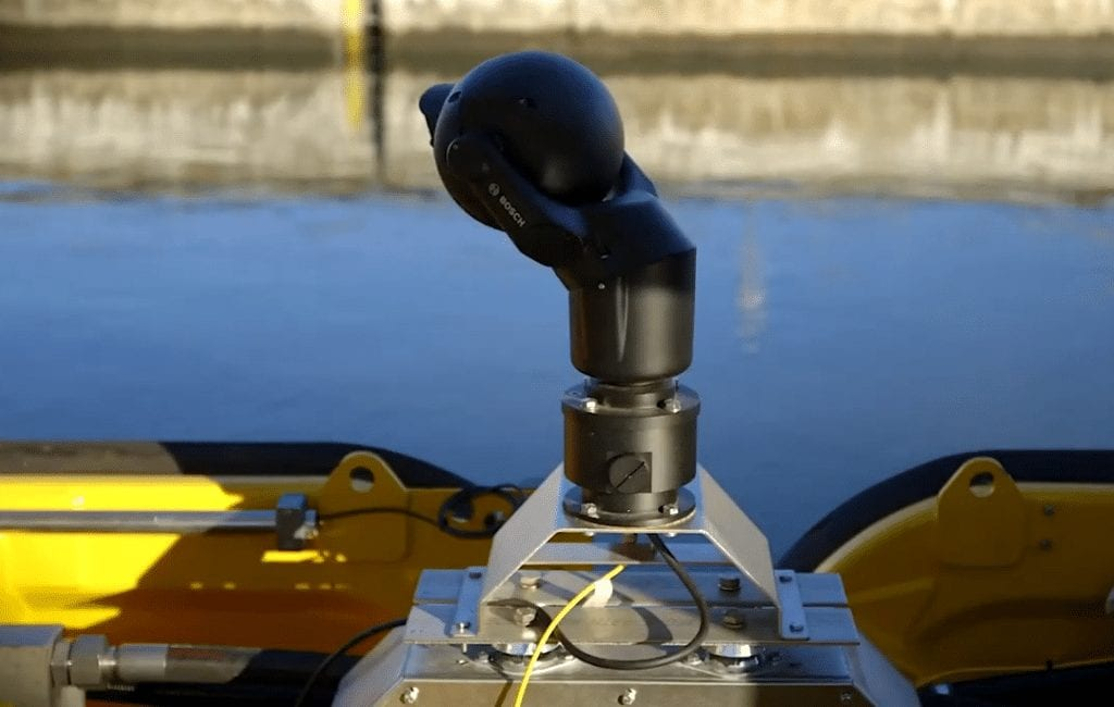 Internet of Things sensor being used at the St Lawrence Seaway