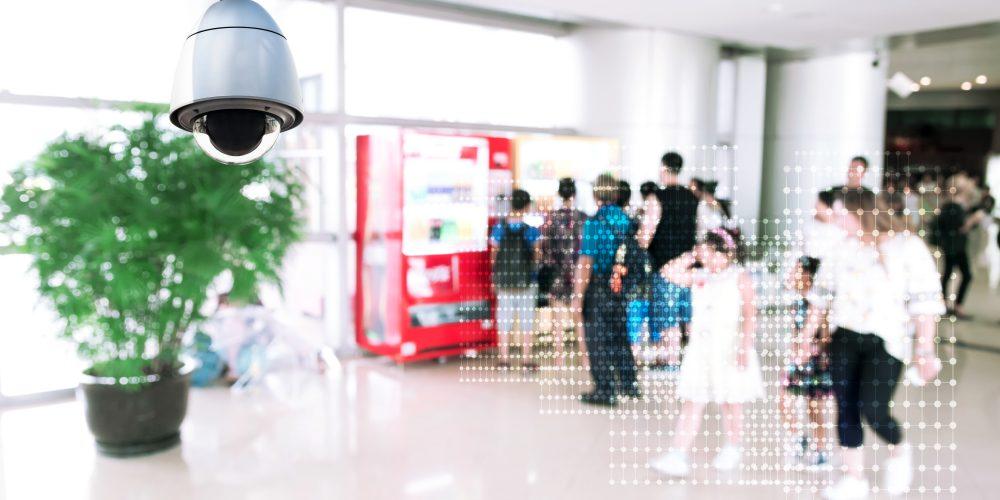 smart video surveillance camera at school