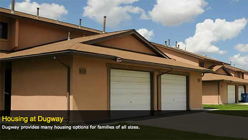 Housing at Dugway