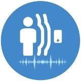 motion detection and activity detection icon